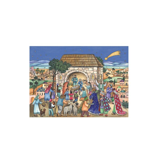 Sellmer Nativity Scene Advent Calendar by The Holiday Aisle