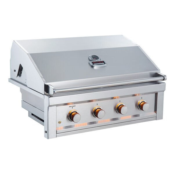 36 Ruby Grill with 4 Burner by Sunstone Grills