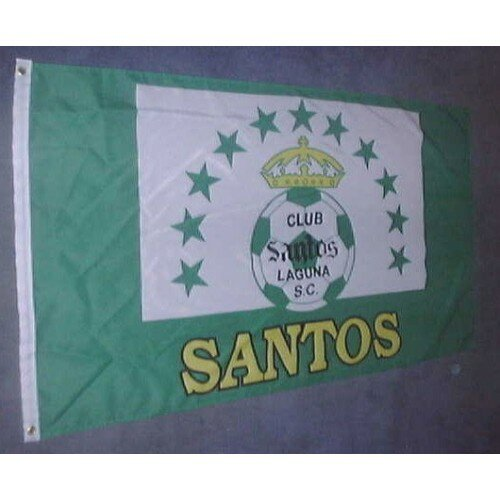 Santos Soccer Club Polyester 3 x 5 ft. Flag by NeoPlex