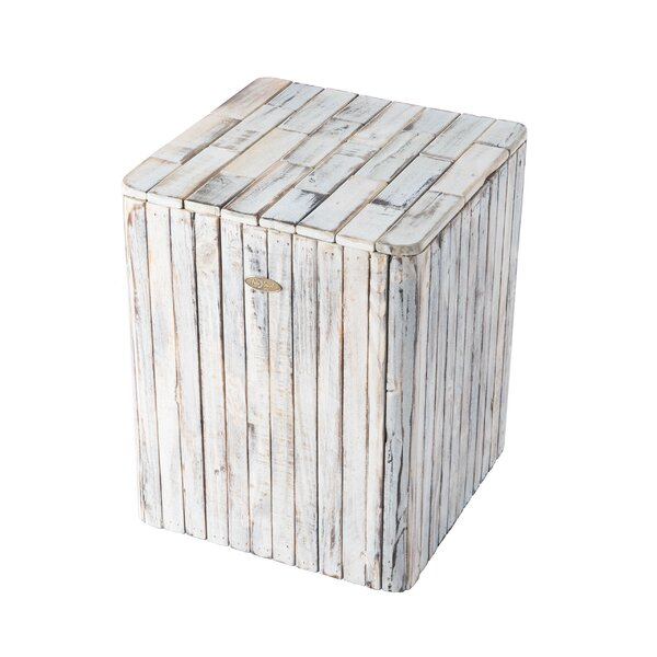 Michael Square Garden Stool by PatioSense