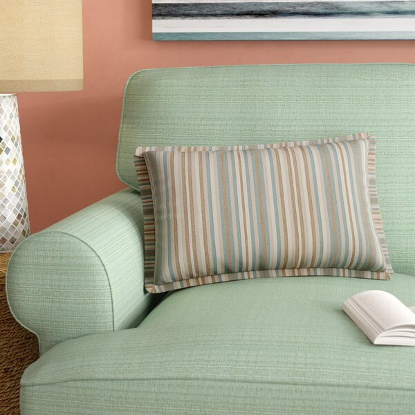 Cavisson Rectangular Indoor/Outdoor Sunbrella Lumbar Pillow (Set of 2) by Rosecliff Heights