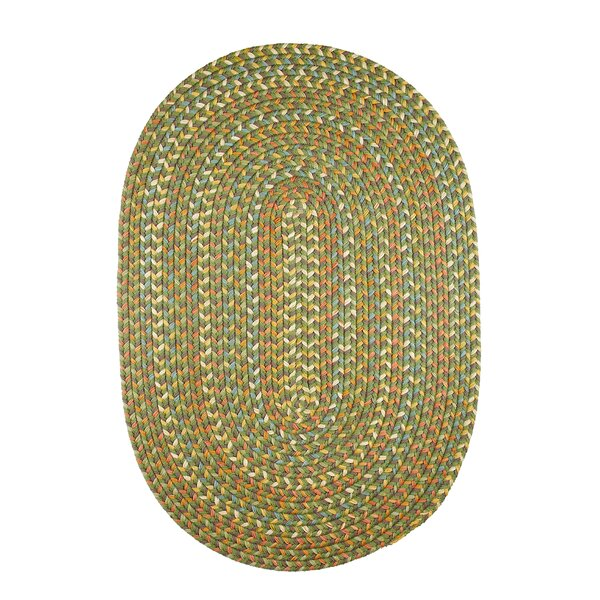 Handmade Olive Indoor/Outdoor Area Rug by The Conestoga Trading Co.
