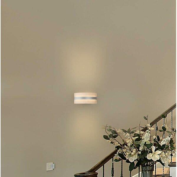 Northfields WiFi-Enabled Tunable 1-Light LED Flush Mount by Orren Ellis