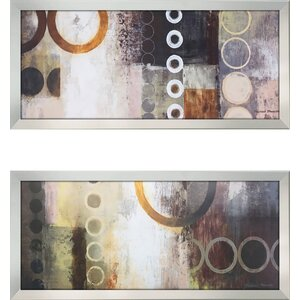 'Liberate I' 2 Piece Framed Print Set by Latitude Run