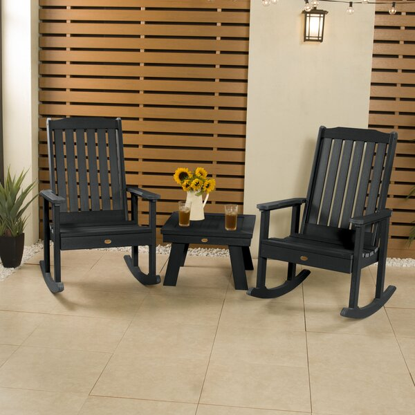 Regan Rocking 3 Piece Seating Group by Alcott Hill