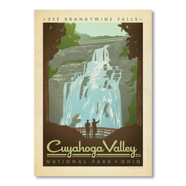 National Park Cuyahoga Vintage Advertisement by East Urban Home