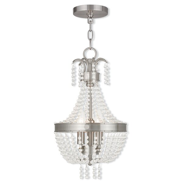 Rachedi 3-Light Empire Chandelier by House of Hampton