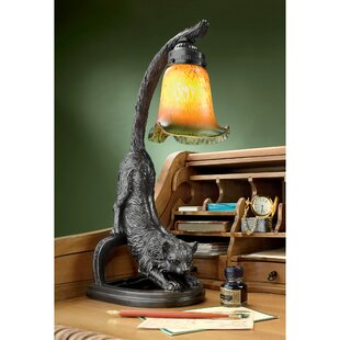 Great choice Crouching Cat 18 Arched Table Lamp By Design Toscano