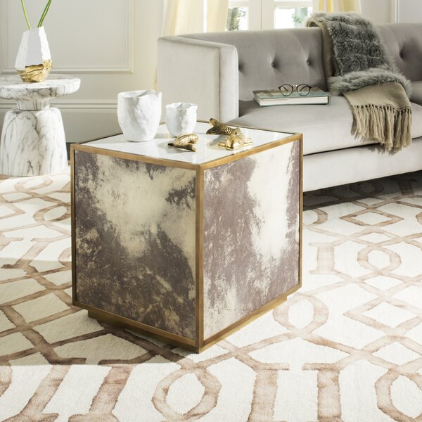 Patroclus End Table by Everly Quinn