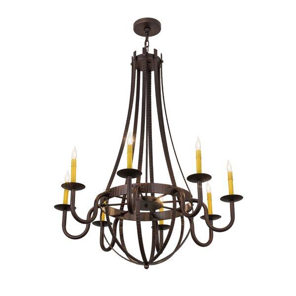Highlandville 8 - Light Candle Style Empire Chandelier by Astoria Grand Astoria Grand