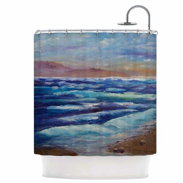 Beach Shower Curtain by East Urban Home