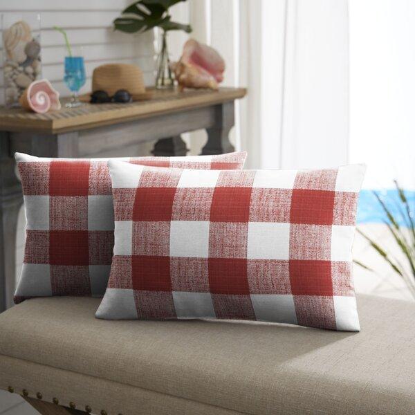 Bagely Buffalo Lumbar Pillow (Set of 2) by Mozaic Company