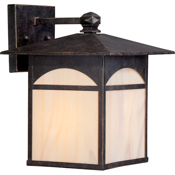 Dissinger Outdoor Wall Lantern by Loon Peak