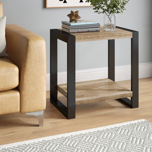 Theodulus End Table by Mercury Row