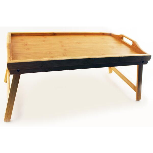 Bamboo Serving Tray with Folding Legs by BergHOFF International