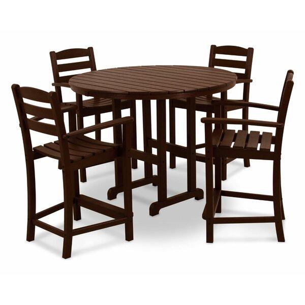 La Casa Café 5 Piece Bar Height Dining Sett by POLYWOOD®