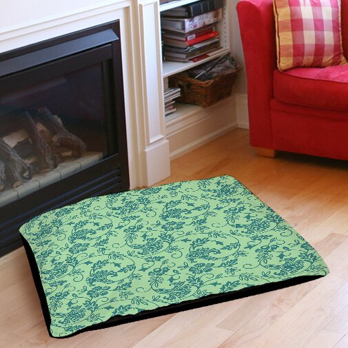 Sultry Blues Indoor/Outdoor Pet Bed by Manual Woodworkers & Weavers
