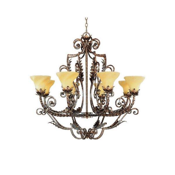 Waycross 8-Light Shaded Empire Chandelier By Astoria Grand