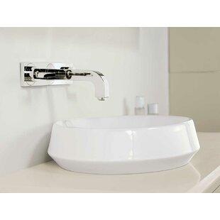 Best Choices Brit Ceramic Circular Vessel Bathroom Sink By Ronbow