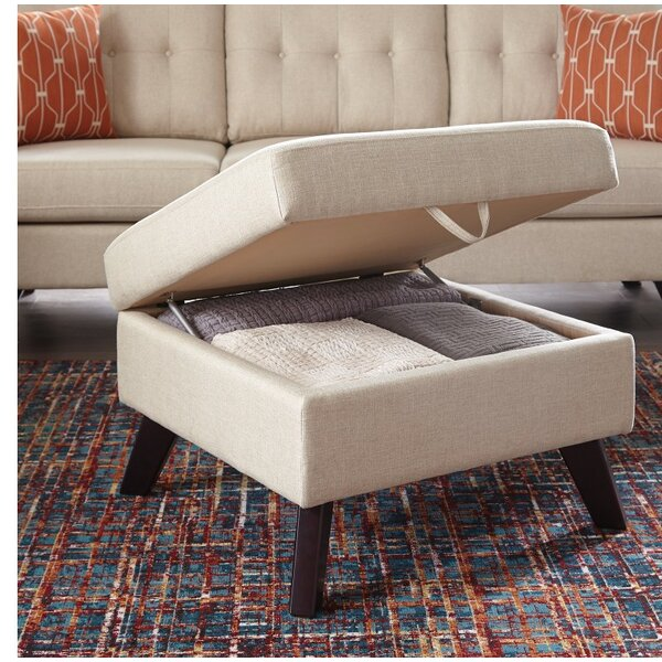 Mcclanahan Delightful Linen Storage Ottoman by Ivy Bronx