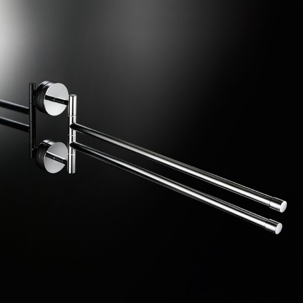 Duemila Flexible Double Wall Mounted Towel Bar by WS Bath Collections