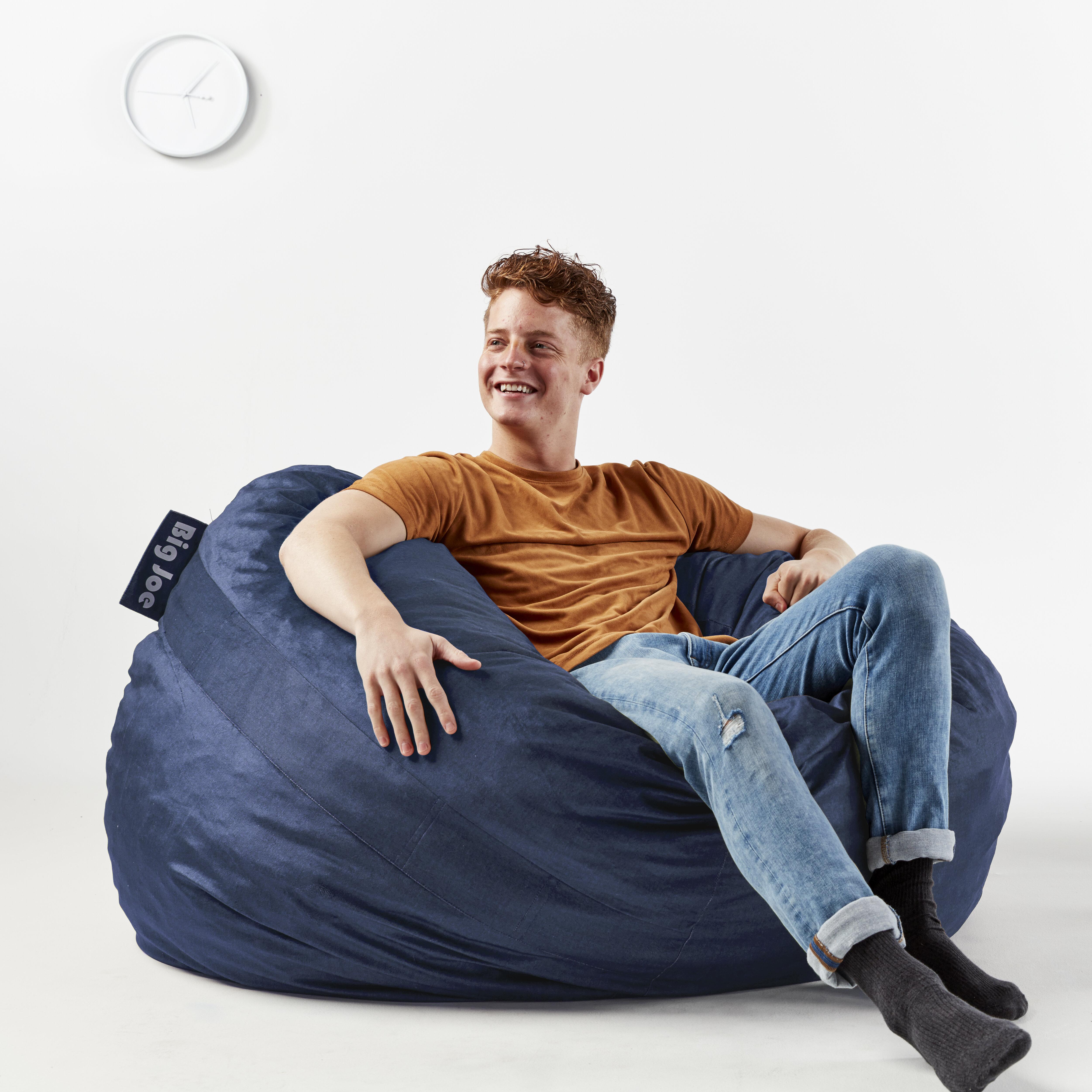 Incredible Fuf Large Bean Bag Chair Lamtechconsult Wood Chair Design Ideas Lamtechconsultcom