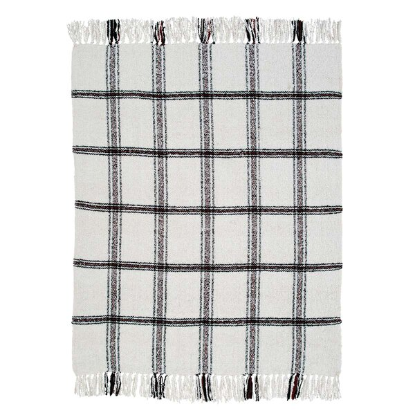 Ball Ground Woven Throw by August Grove