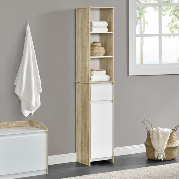 Mcnair 12.8 W x 67.5 H Cabinet by Mercury Row