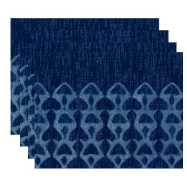 Viet Watermark Placemat (Set of 4) by Bloomsbury Market