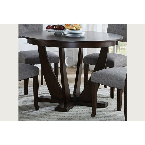 Levon Pedestal Dining Table by Ebern Designs