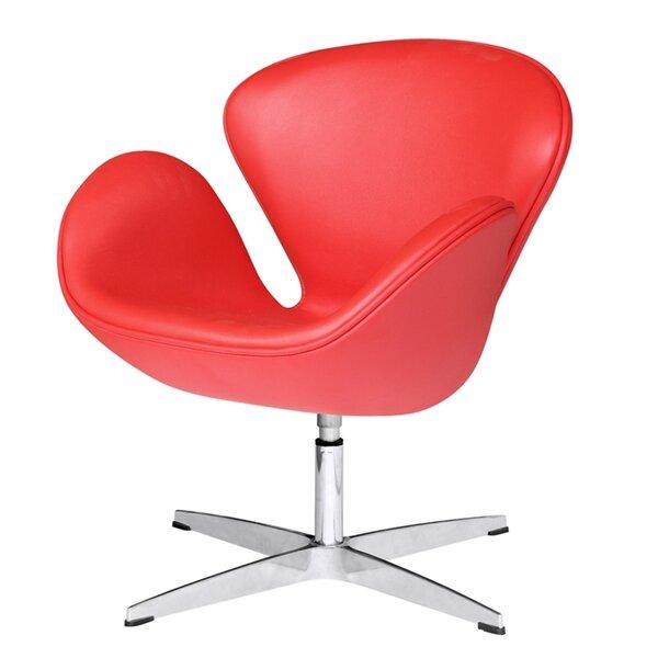 Ranier Swivel Barrel Chair By Orren Ellis