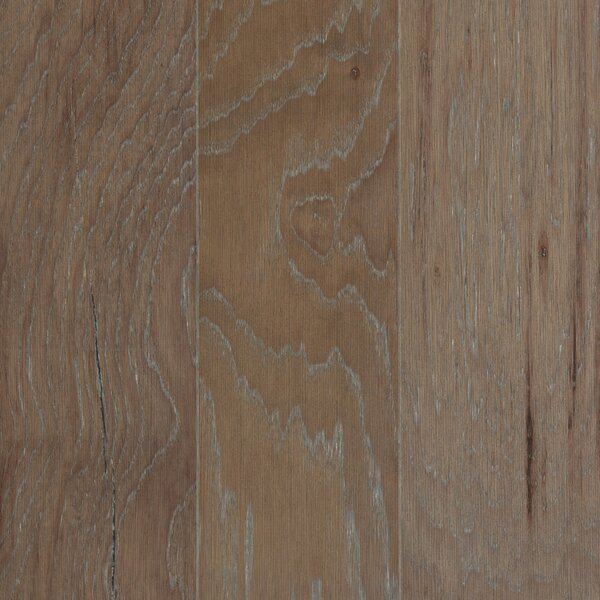 American Villa 5 Engineered Hickory Hardwood Flooring in Gray Mist by Mohawk Flooring