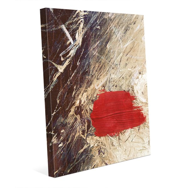 Scarlet Scenario Painting Print on Wrapped Canvas by Click Wall Art
