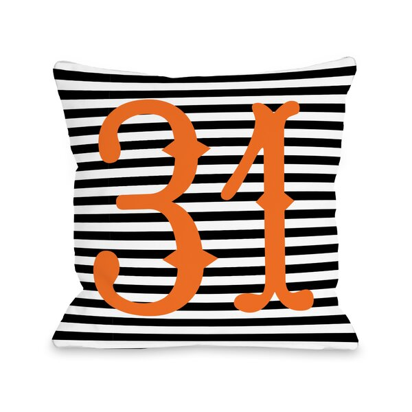 31st of October Throw Pillow by One Bella Casa
