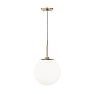 Best Price Huebner 1-Light Pendant By Mercer41