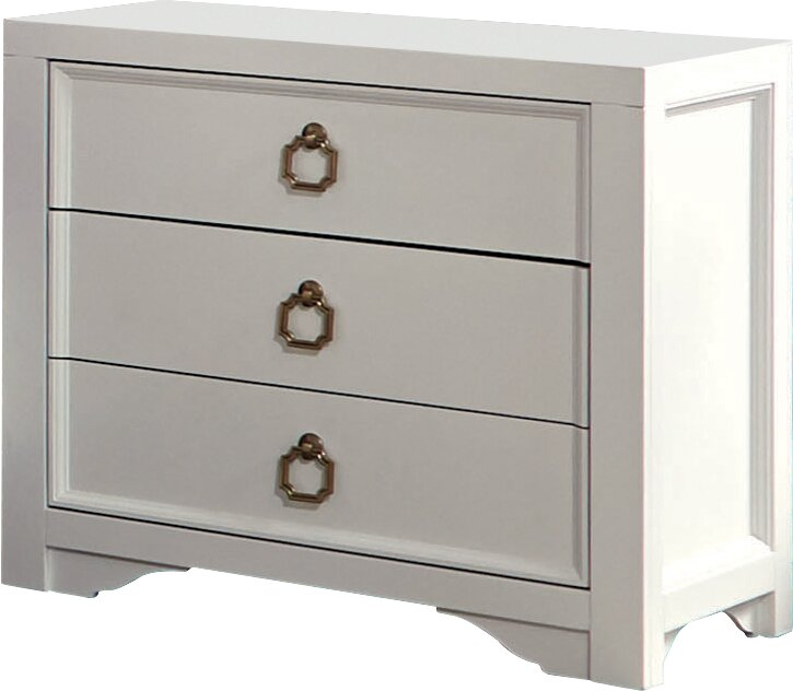 Donny Osmond Storage Bedroom Bench Reviews: Donny Osmond Furiani 3 Drawer Nightstand & Reviews