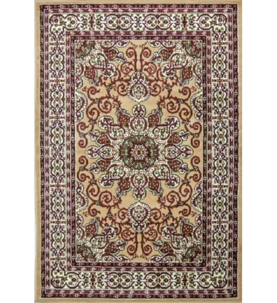 Staveley Hand-Tufted Brown/Beige Area Rug by Charlton Home