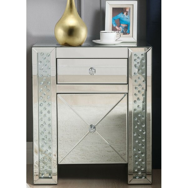 Escondido 1 Drawer Nightstand by Rosdorf Park