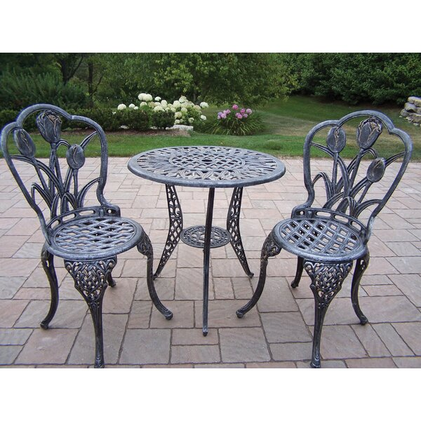 Farrior 3 Piece Bistro Set by Brayden Studio