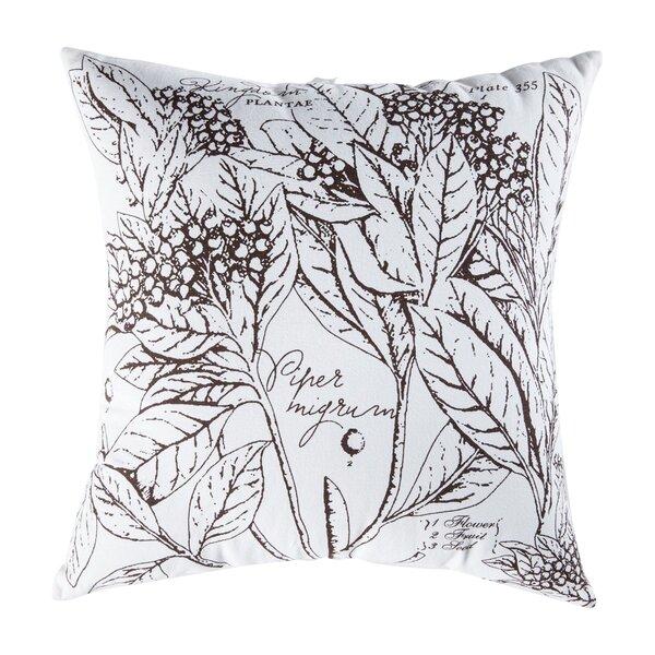 Uruli Pepper Cotton Throw Pillow By Koko Company