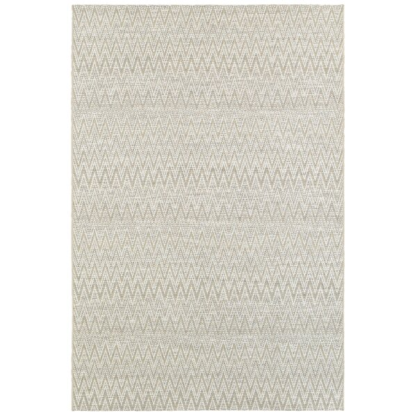 Cedeno Gray Indoor/Outdoor Area Rug by George Oliver