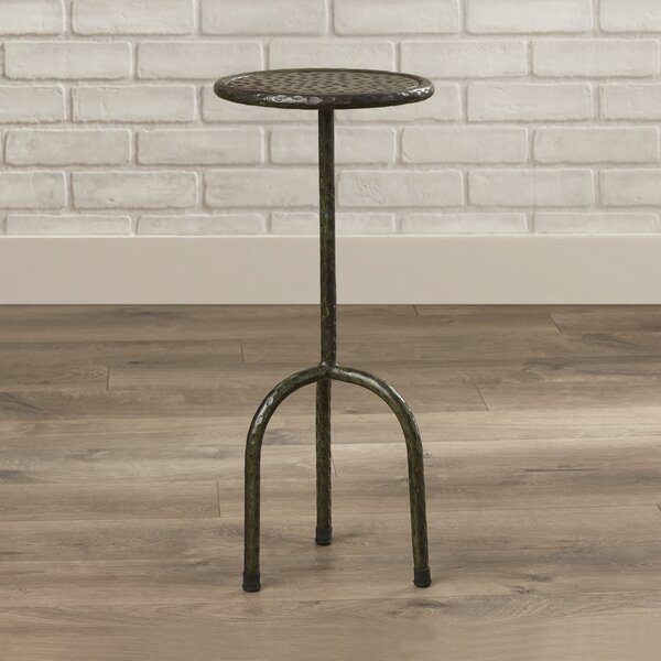 Garvin Iron End Table by Trent Austin Design