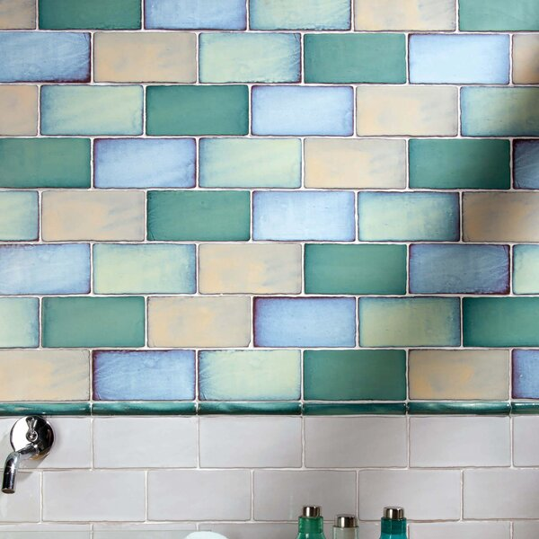 Antiqua 3 x 6 Ceramic Subway Tile in Special Via Lactea by EliteTile