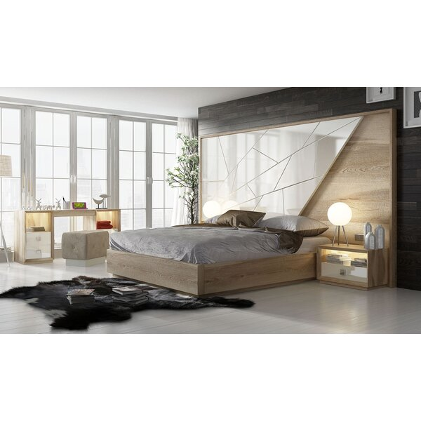 Helotes King Storage Standard Bed by Orren Ellis