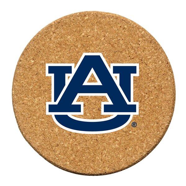 Auburn University Cork Collegiate Coaster Set (Set of 6) by Thirstystone