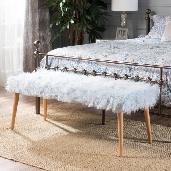 Molimo Upholstered Bench By Mercer41 Design