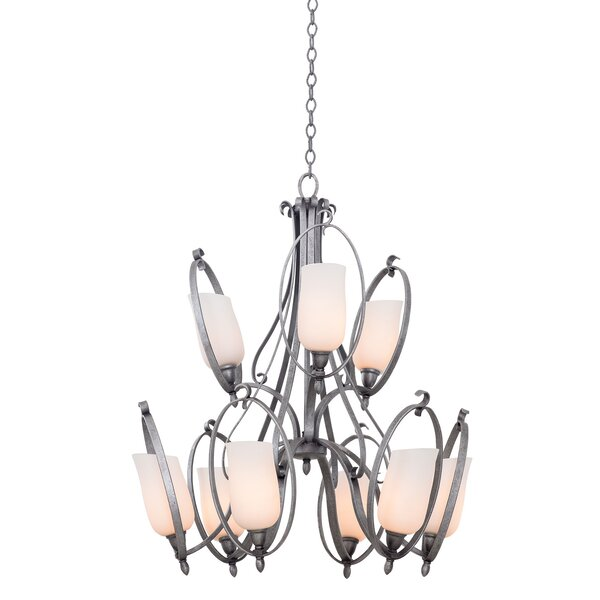 Magaret 9 - Light Shaded Classic / Traditional Chandelier By Ebern Designs