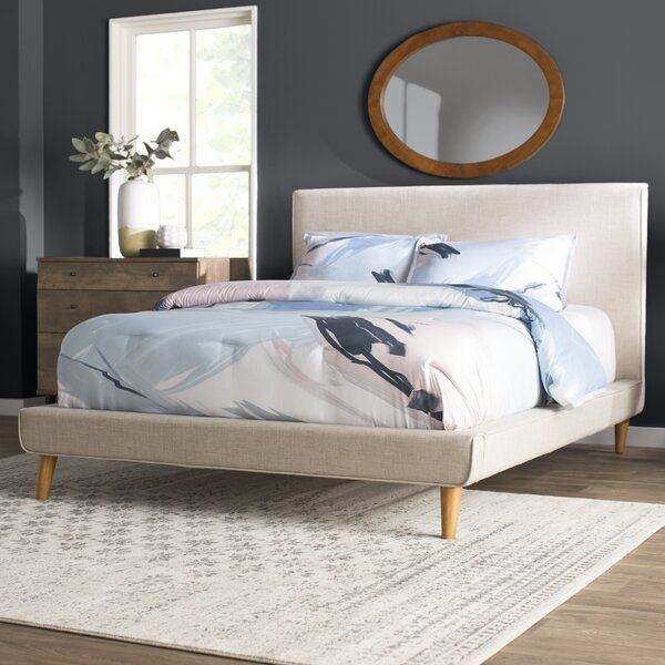 Parocela Upholstered Platform Bed by Langley Street