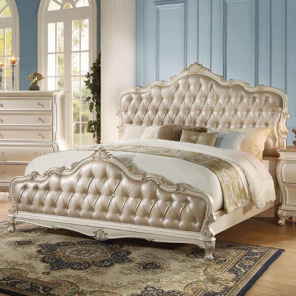 Bernard Upholstered Standard Bed by Rosdorf Park