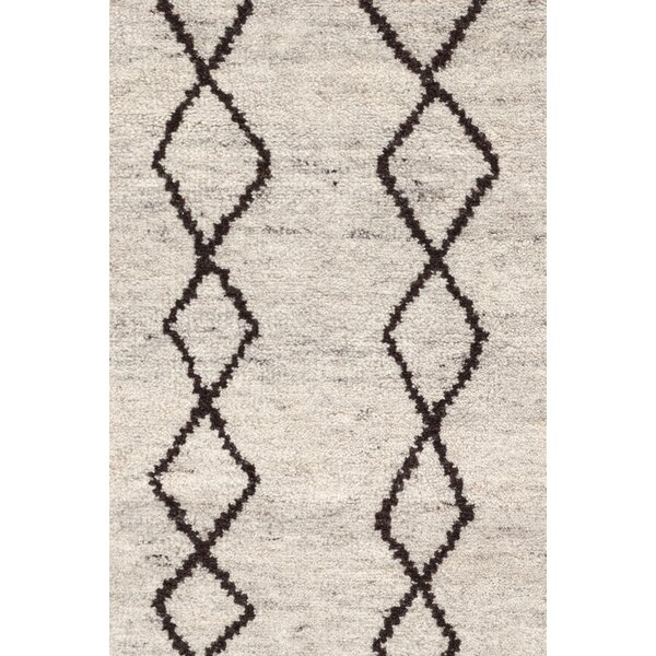 Hand-Knotted Beige Area Rug by Dash and Albert Rugs